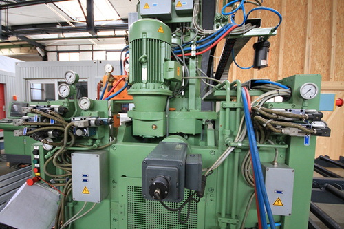 Peddinghaus FDB 1000 plate burning machine after Retrofit