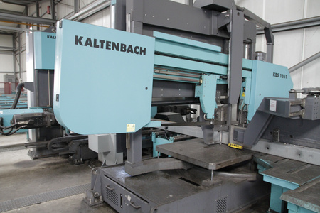 Kaltenbach KBS1051-KDM1015 used structural steel processing beam saw drill line