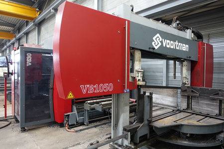 Voortman V630-VB1050 used structural steel processing beam saw drill line